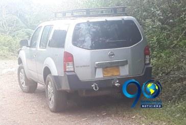 Hallan abandonada en vía rural de Jamundí camioneta de arquitecto secuestrado