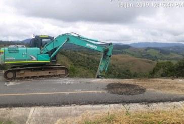 Invías arrancó con obras de reparación en la vía Buga-Buenaventura