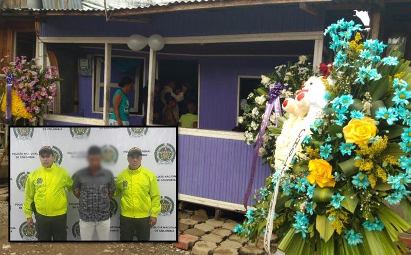 Por un lazo cayó presunto asesino y tío de niña Diana Tatiana en Buenaventura