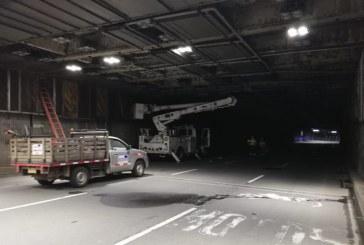 Nuevamente a oscuras: por cuarta vez en el año roban cableado en Túnel Mundialista de Cali