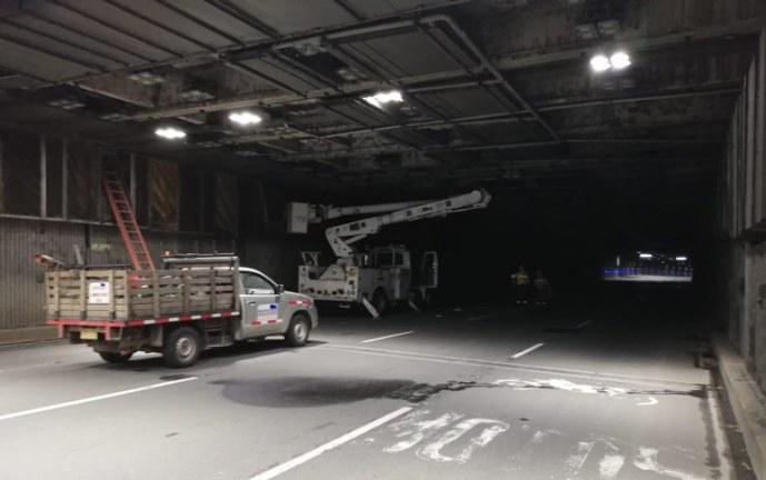¿Otra vez? Hombre es capturado por robar cable de energía del túnel Mundialista