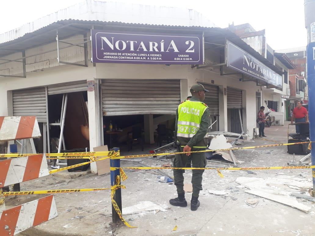 Murió otra de las víctimas de la explosión en la notaría de Yumbo