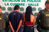 Una pareja fue capturada en Yumbo tras llamado de la comunidad