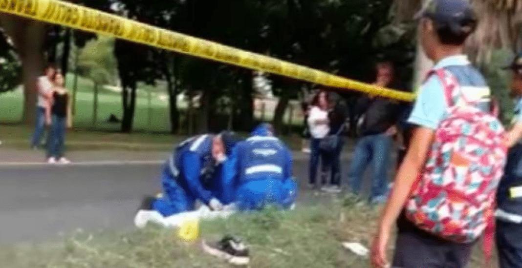 Peatón murió tras ser arrollado por una camioneta en Menga
