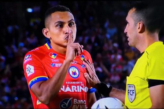 ¿Qué pasó entre Ray Vanegas y Sebastián Viera en la final entre Pasto y Junior?