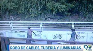 Revelan más detalles de robo al túnel mundialista, luminarias y cámaras siguen dañadas