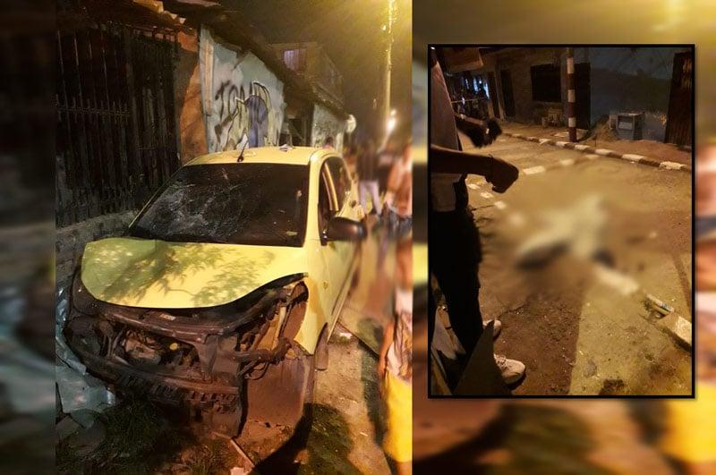 Mujer falleció en Cali tras ser atropellada por taxista en estado de embriaguez