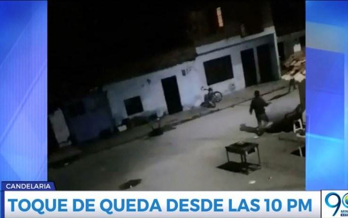 Por hechos de violencia, habrá toque de queda y restricción a parrillero hombre en Candelaria
