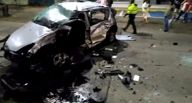 Identifican a una de las víctimas del trágico accidente en la Autopista sur de Cali