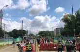 Nueva fuga de gas se presentó en la vía Cali – Jamundí en horas de la mañana