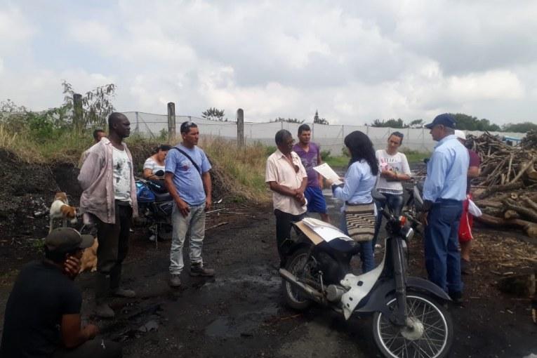 Permiso para hacer quema de material vegetal fue otorgado a la Asociación de Carboneros de El Cerrito