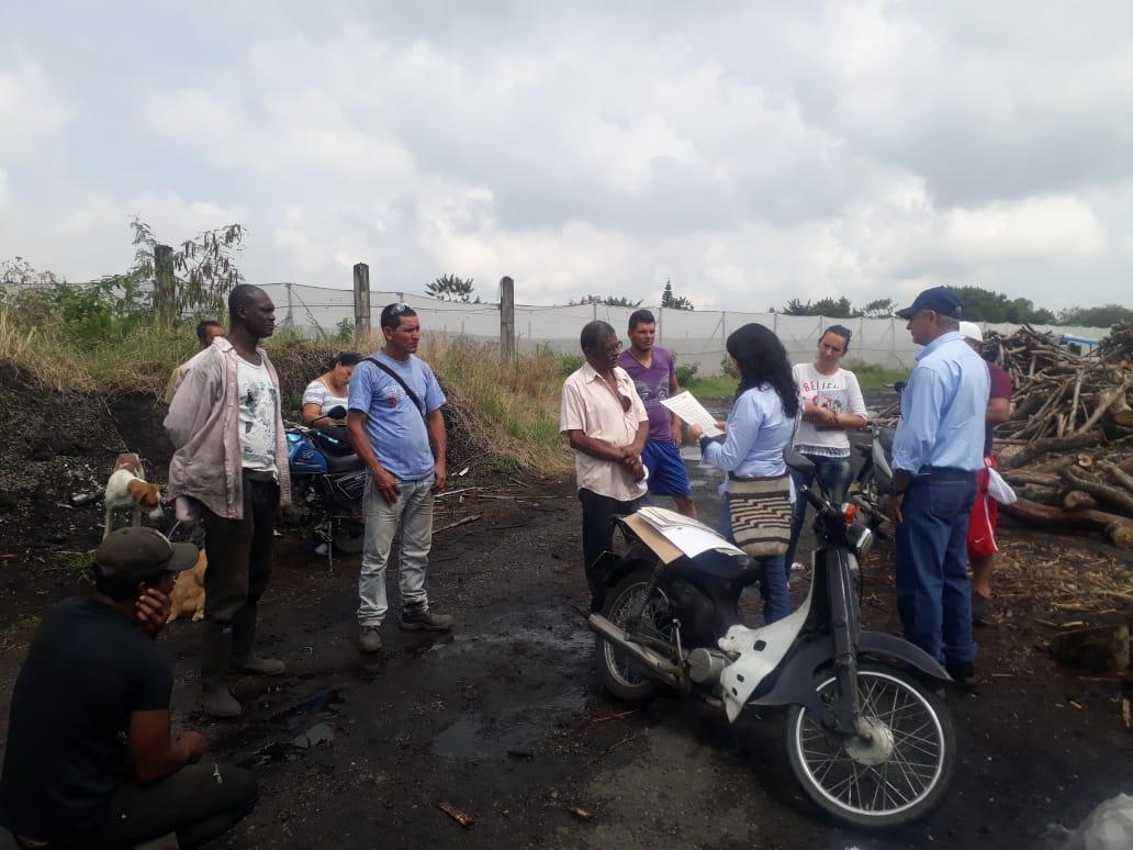 Otorgan permiso para hacer quema de material vegetal a Asociación de Carboneros de El Cerrito