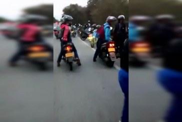 Accidente en recta Cali – Palmira cobra la vida de un motociclista y deja a dos más heridos