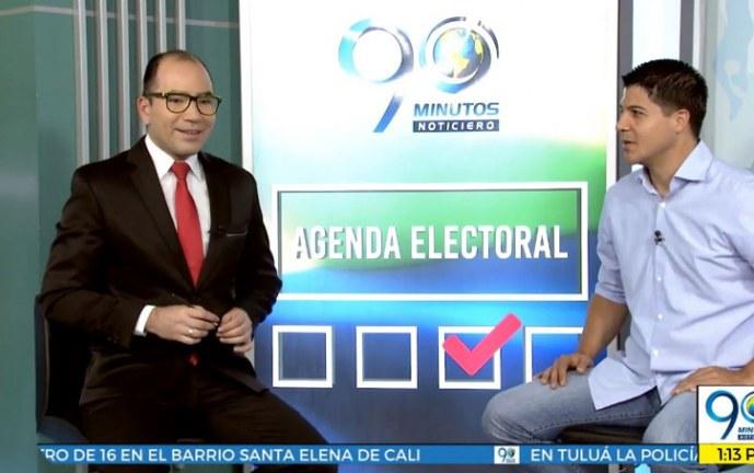 Agenda Electoral 90 Minutos: Carlos Clavijo, candidato a la Gobernación del Valle