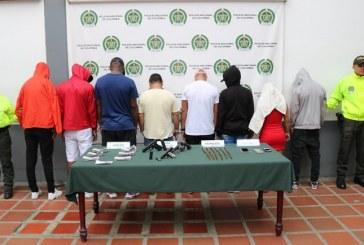 Cárcel a integrantes de 'Los Juniors', dedicados al tráfico de droga, sicariato y hurtos en Cali