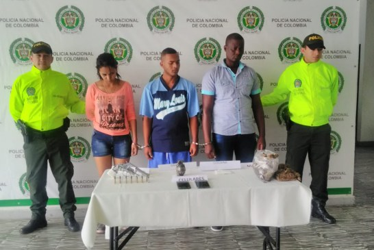 Caen cuatro integrantes de banda que traficaba drogas y portaban armas en Guacarí