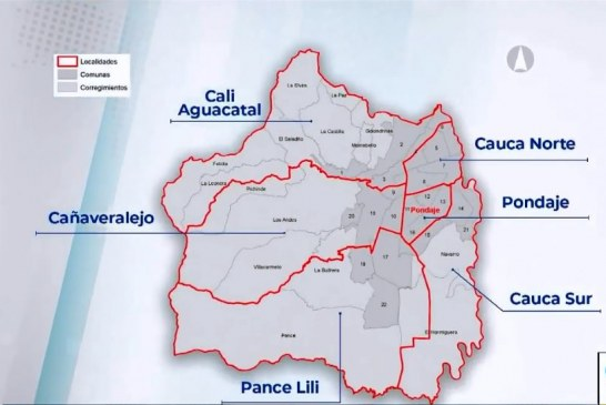 Cali Distrito Especial: Seis localidades, unión de zona rural-urbana y alcaldes menores