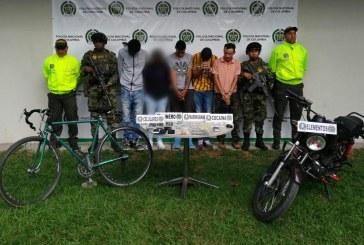 """Capturan a 7 personas del grupo delincuencial """"Los del obrero"""" en Palmira"""