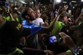 Con caravana, cientos de caleños recibieron a Sebastián Cabal tras ganar Wimbledon
