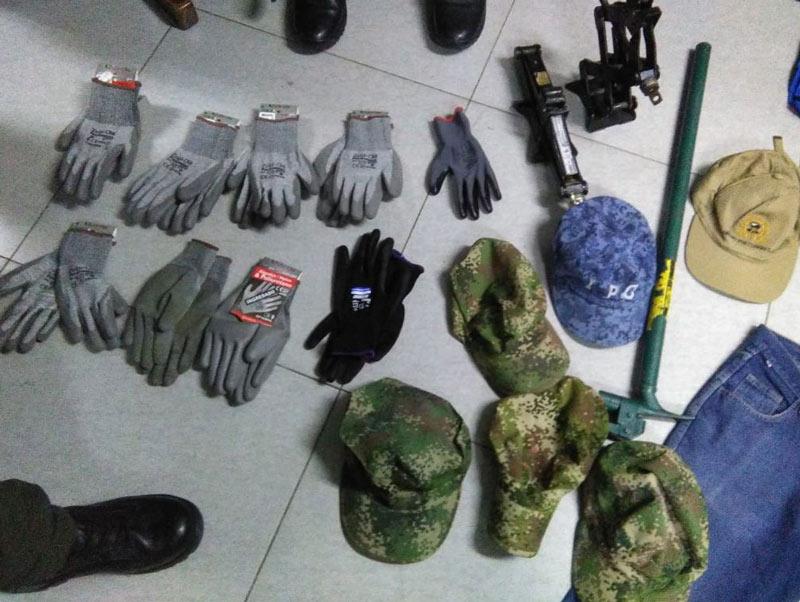 Con prendas militares caen miembros de 'Los del Sur' por hurto a residencias en Cali
