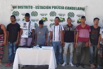 Caen nueve presuntos integrantes de banda 'Los Tura', señalados por microtráfico