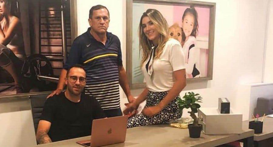 Murió el papá de David y Daniela Ospina en Medellín