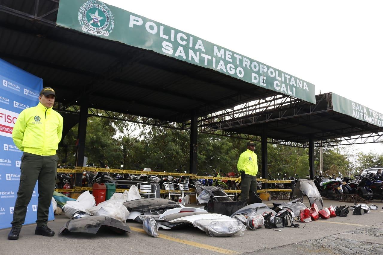 Autoridades desmantelaron tres bandas que hurtaban automóviles en Cali