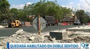Puente de la Calle 21 volverá a movilizar vehículos en doble sentido tras reparación