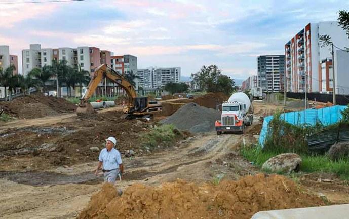 Avanza obra que unirá a Valle del Lili y Bochalema con un puente detrás de la Autónoma