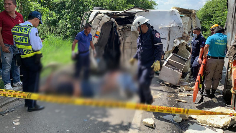 Identificaron a las 3 personas que murieron en fatal accidente en vía Cali – Popayán