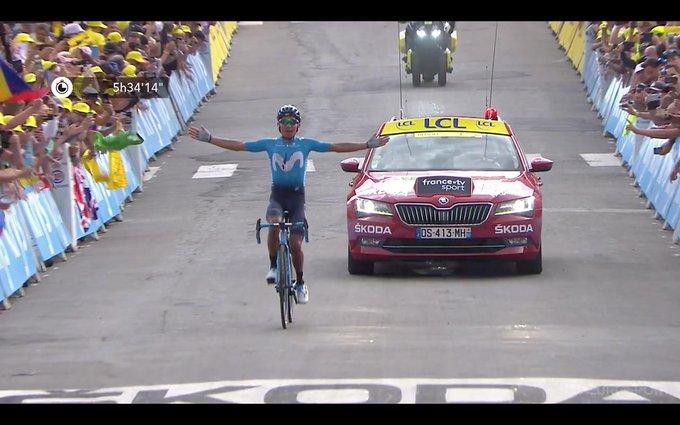 ¡Triunfa Nairo Quintana! El ciclista ganó en la gran etapa del Galibier en el Tour