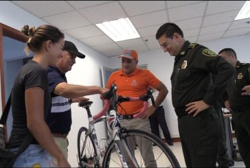 Recuperan en el Meta bicicleta de triatleta hurtada en Cali