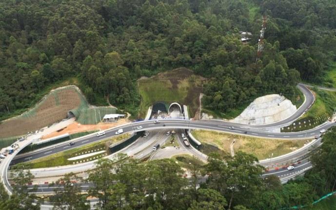 Video: Antioquia inauguró el Túnel de Oriente, el más largo de América Latina