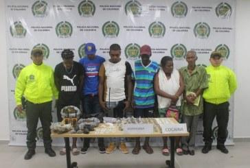 Casa por cárcel a expendedores de droga en Buenaventura, otras 3 personas fueron dejadas en libertad