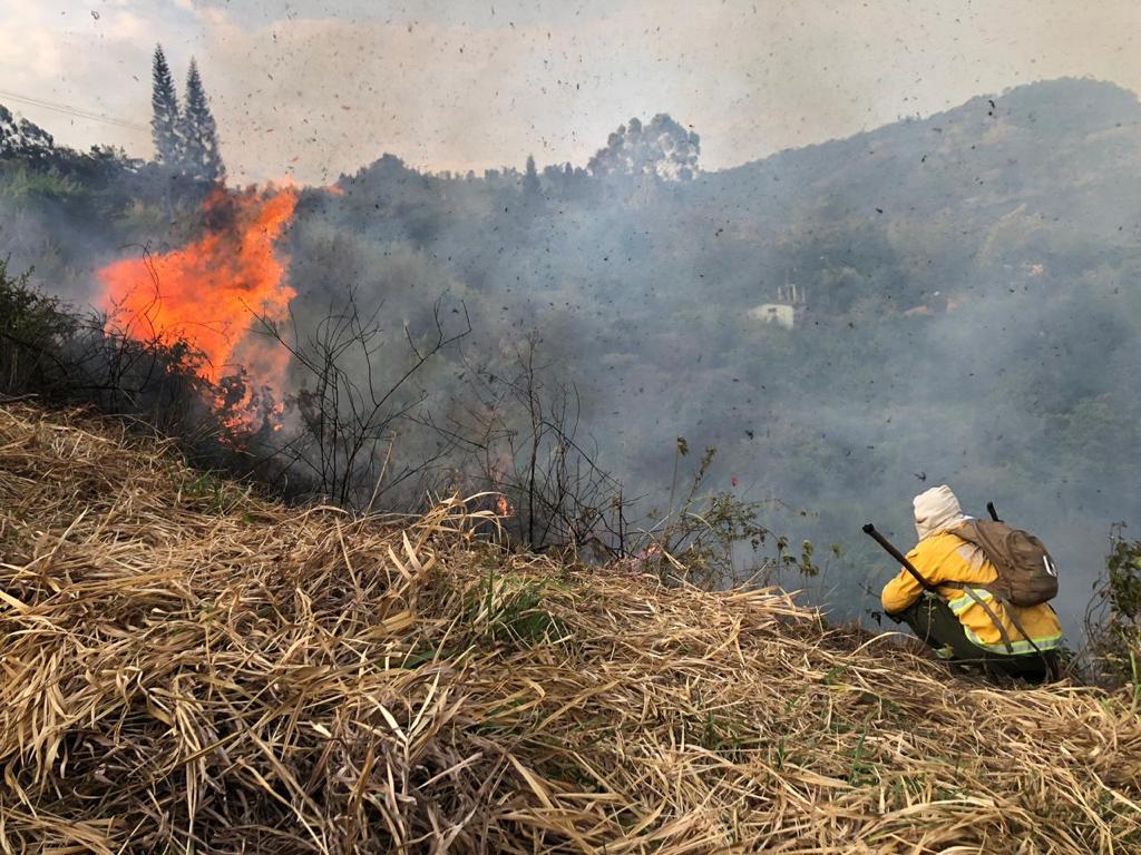 Alcalde de Yumbo activa alerta amarilla por incendio forestal en Dapa