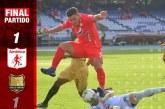 América rescató un empate sobre el final ante Rionegro Águilas