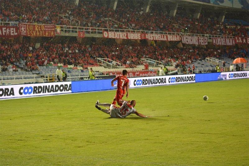 América fue goleado en su visita al Independiente Medellín por 4-1