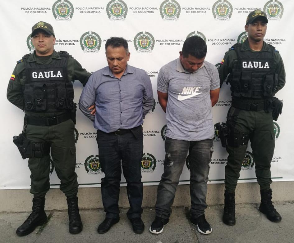 Cárcel a hombres que extorsionaban a docente en Buga, uno de ellos era sobrino de la víctima