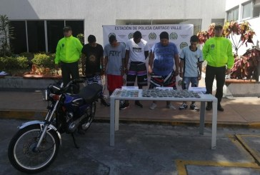 Cayeron cinco integrantes de 'El Callejón', dedicados al microtráfico en el norte del Valle