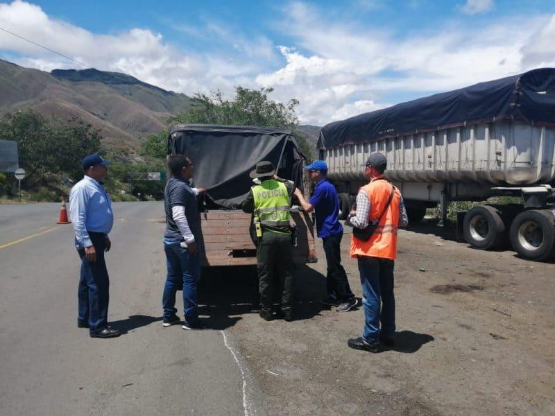 Cvc realiza operativos de control, con el transporte de madera ilegal