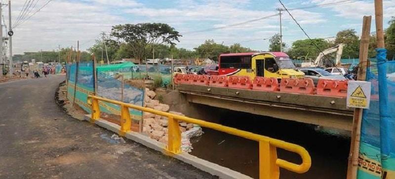 Desvíos sobre nuevos Box Culvert de vía Cali – Jamundí serán habilitados desde esta semana