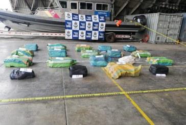 Hallan en el Pacífico embarcación nicaragüense cargada con droga