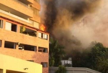 Incendio en hostal de Juanambú no dejó personas lesionadas