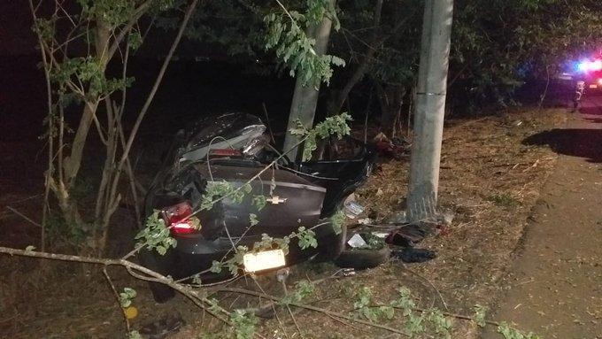 Joven de 19 años perdió la vida en aparatoso accidente sobre la Avenida Cañasgordas