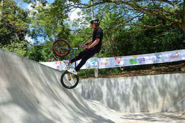 Se inaugura en Obando un Statepark para la práctica de deportes extremos