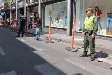 Autoridades inician nueva intervención en el centro de Cali para controlar el espacio público