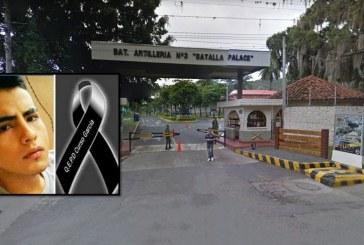 Nuevo caso de suicidio: soldado se habría quitado la vida en Batallón Palacé de Buga