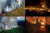 #PrayForAmazonia llamado de auxilio ante la peor ola de incendios en el amazonas