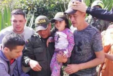 Encuentran a menor desaparecida en El Tambo, Nariño