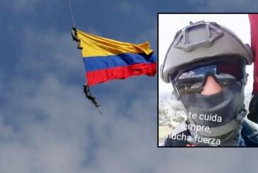 Revelan video que habría grabado uno de los militares minutos antes de caer de helicóptero